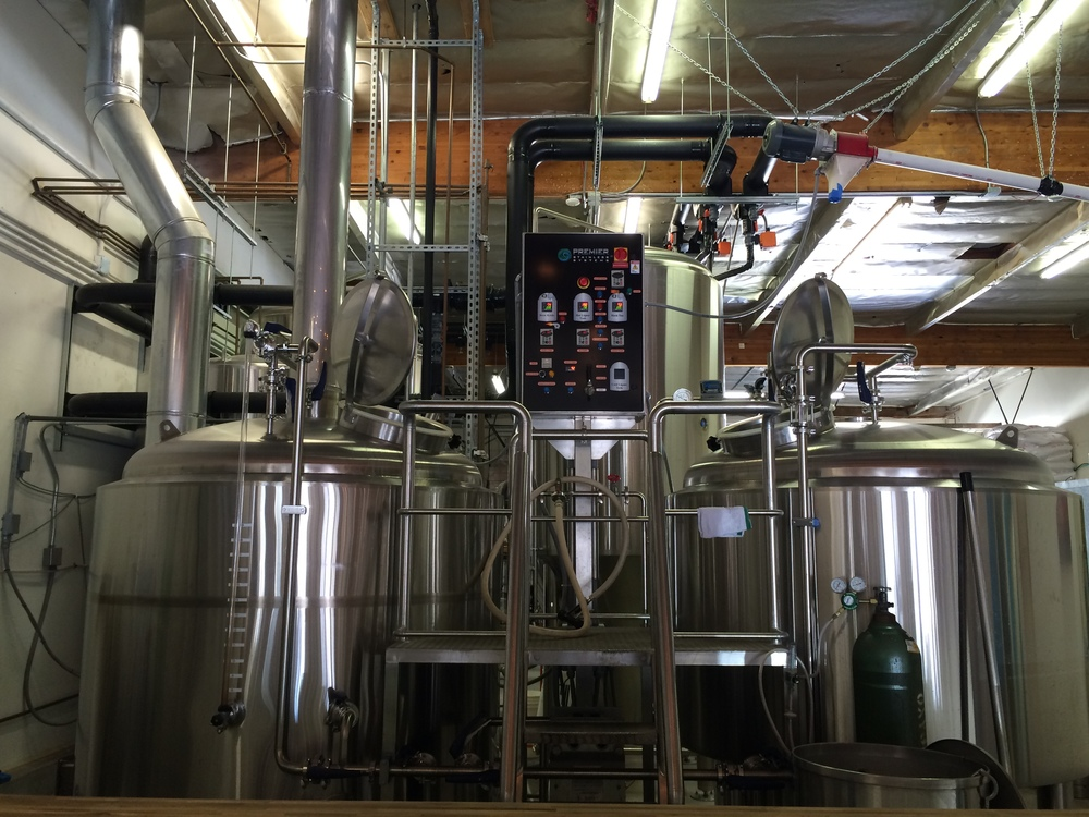 The brewery.