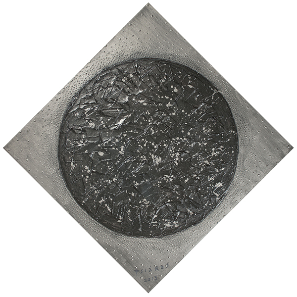 Diamond Sphere, 2012 Mixed media on canvas 22x22 in / 56x56 cm