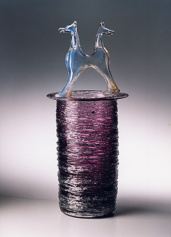 Biomorphs, Glass Sculpture