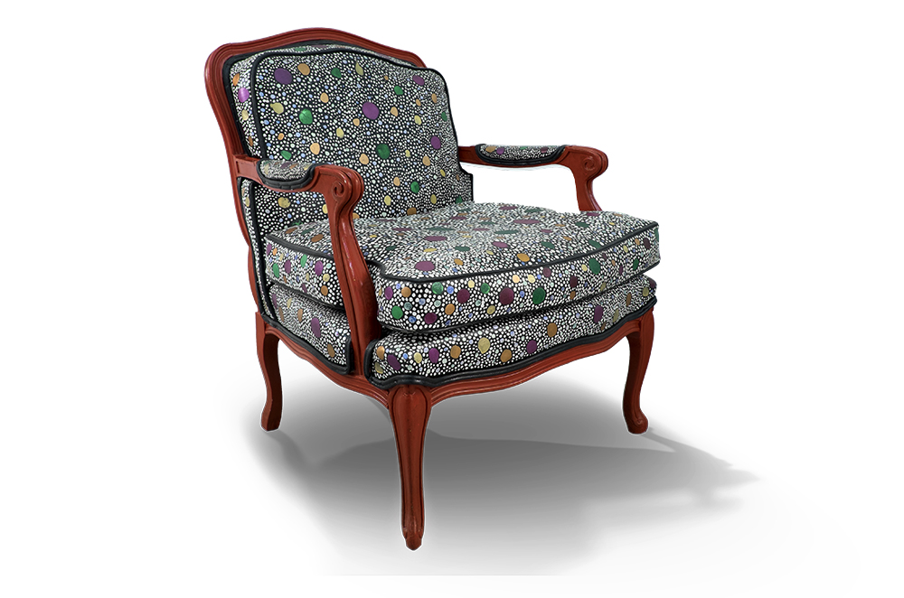 Dotted Louis XV  2012   27 x 34 x 28 in / 69 x 86 x 71 cm
