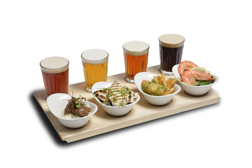 Fringe beer food matching gait for Craft beer and food