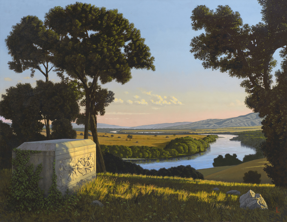 DAVID LIGARE. Et in Arcadia ego, 2016.