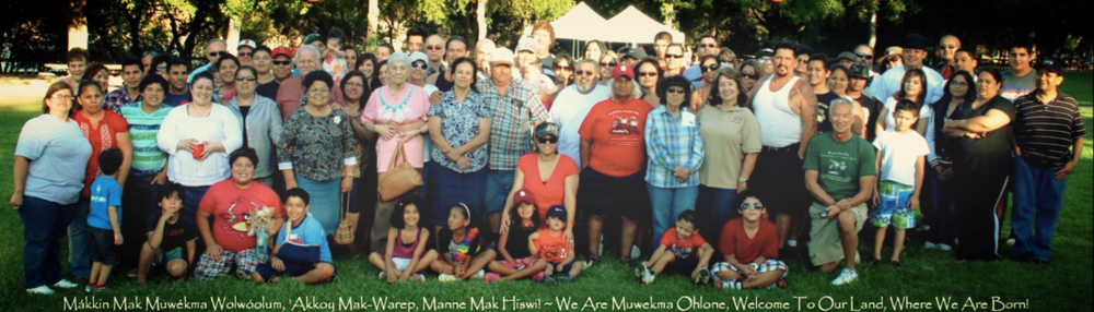 Muwekma Ohlone Tribe photo, Livermore, CA August 2012.