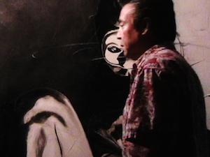 Studio of Artist, George Rivera