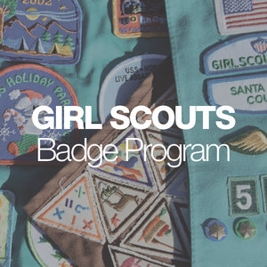 Girl Scouts Brownies Painting Badgeexhibitions Education Art Innovation History Bay Area Los Gatos