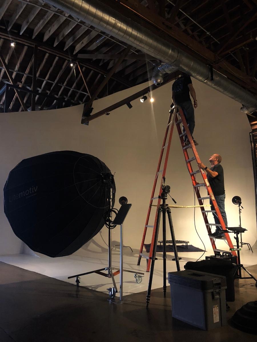 South Studio Cyc Wall