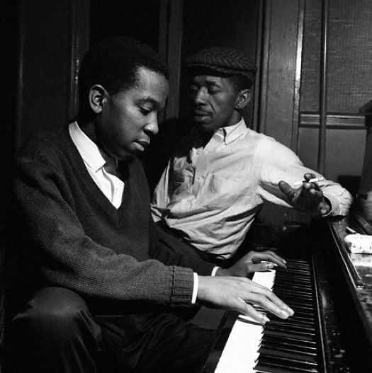 sonny clark & philly joe jones - photo by francis wolff