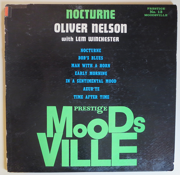 "Oliver Nelson - ""Nocturne"" - Front Cover"