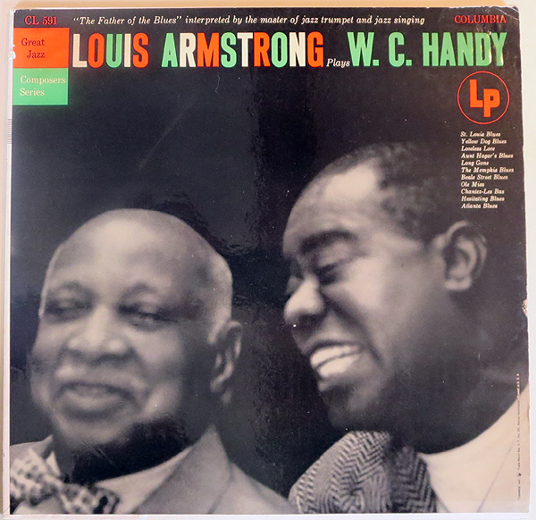 LOUIS ARMSTRONG PLAYS W.C. HANDY - front cover