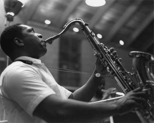 John Coltrane (Photo By Chuck Stewart)