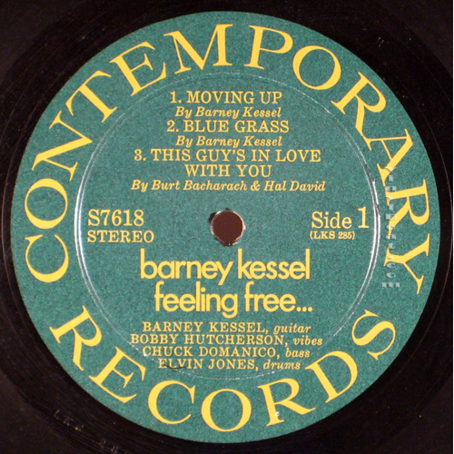 "Example Of Late 1960's / Early 1970's ""Green and Gold"" Label (Image From VinylBeat.com)"