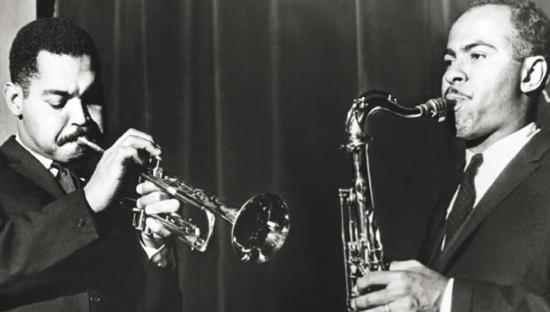 Art Farmer & Benny Golson (Date &Photo Credit Unknown)