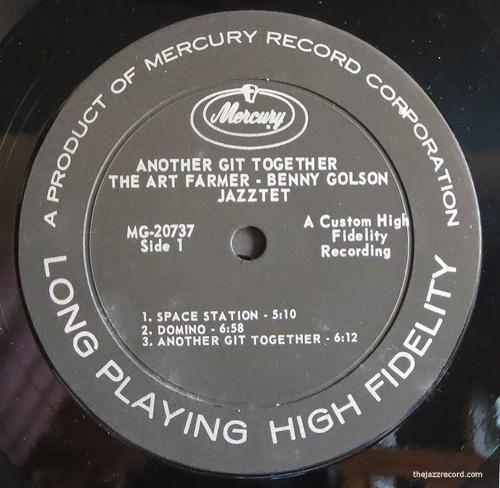Art Farmer-Benny Golson-Jazztet-Label-LP