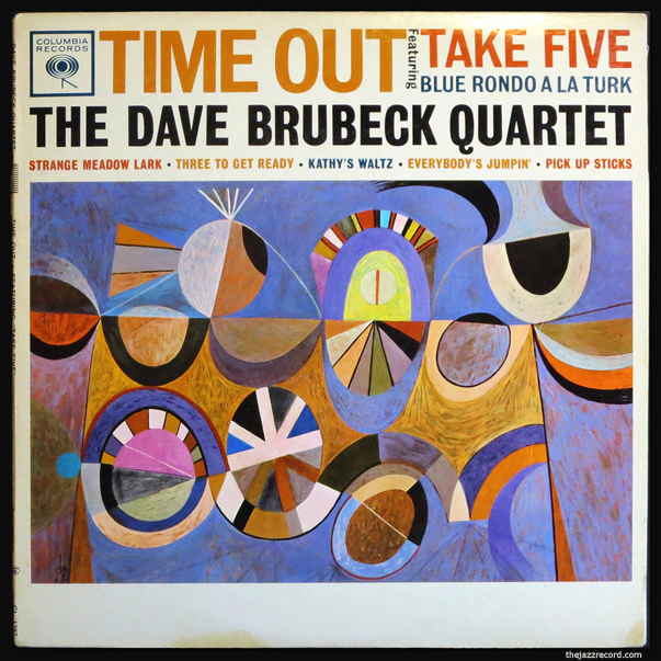 The Dave Brubeck Quartet - Time Out - LP Front Cover