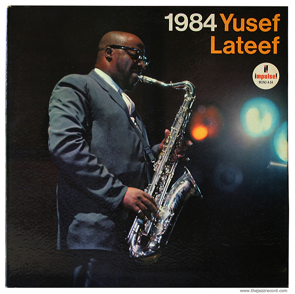 "Yusef Lateef - ""1984"" Front Cover"