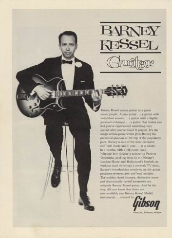 "The ""Barney Kessel Model"" Guitar Was Made By Gibson From 1961 - 1972."