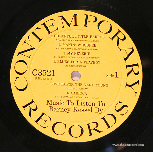 Some Swing Some Cool Barney Kessel Quot Music To Listen To