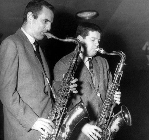 Ronnie Scott (L) & Tubby Hayes (R)