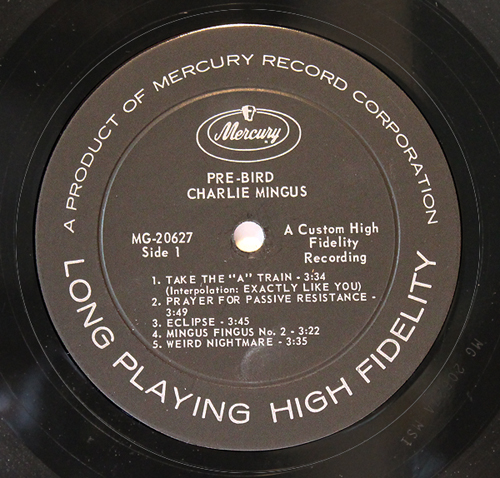 Old Songs Made New Charles Mingus Quot Pre Bird Quot