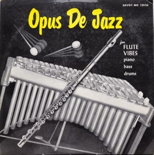 Original 1955 Opus De Jazz Cover