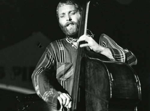 A young Dave Holland Feelin' The Spirit