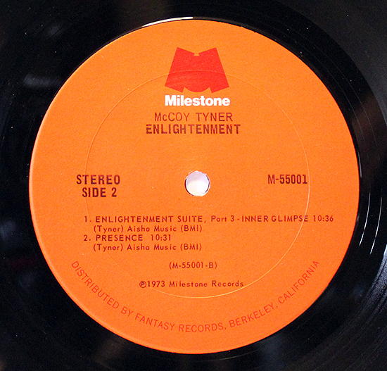 McCoy Tyner - Enlightenment - Label Vinyl LP