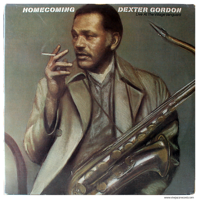 Dexter Gordon - Homecoming - Front - Vinyl