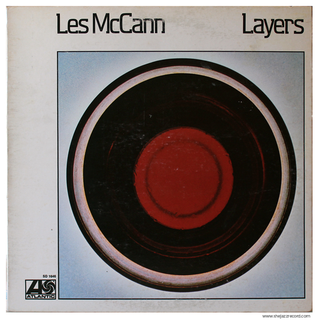 Les McCann - Layers - Vinyl Front Cover