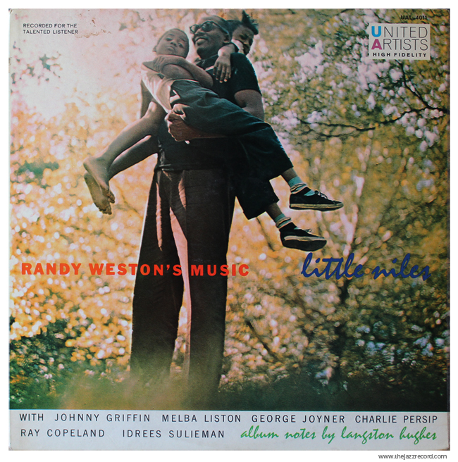 "Randy Weston - ""Little Niles"" - Front Cover - Vinyl"