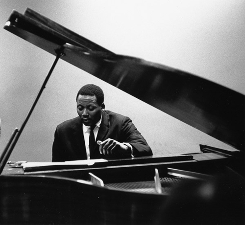 Randy Weston following his muse, 1961. Photo by Herb Snitzer.