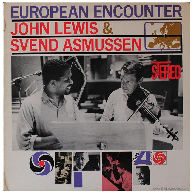John Lewis & Svend Asmussen - European Encounter - Front Cover Vinyl