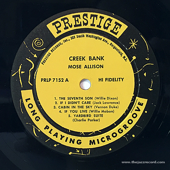 mose-allison-creek-bank-label-vinyl