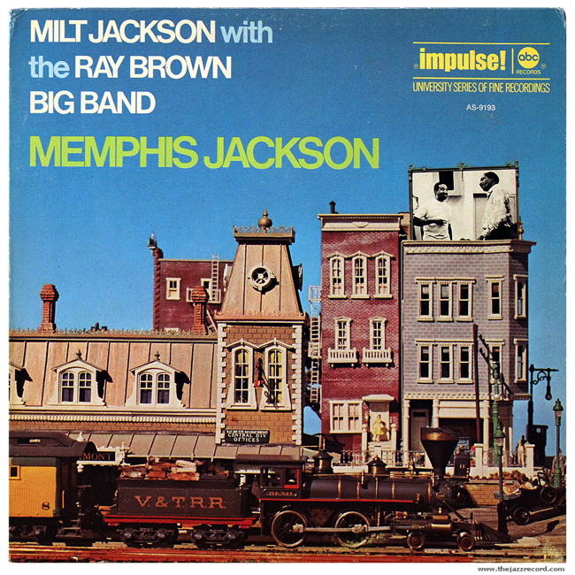Milt Jackson with Ray Brown Big Band - Front Cover Vinyl LP