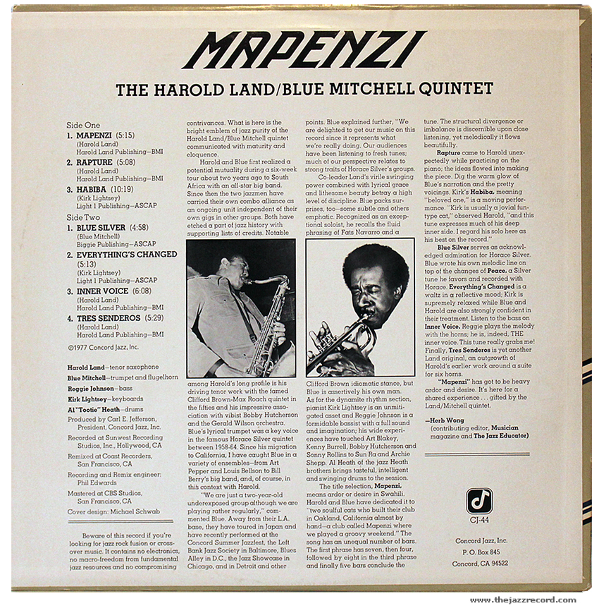 harold-land-blue-mitchell-quintet-mapenzi-back-cover-vinyl-lp