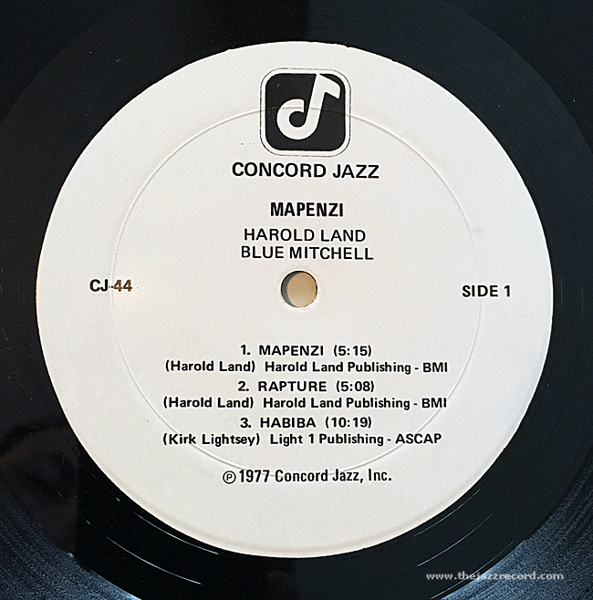 harold-land-blue-mitchell-quintet-mapenzi-label-vinyl-lp