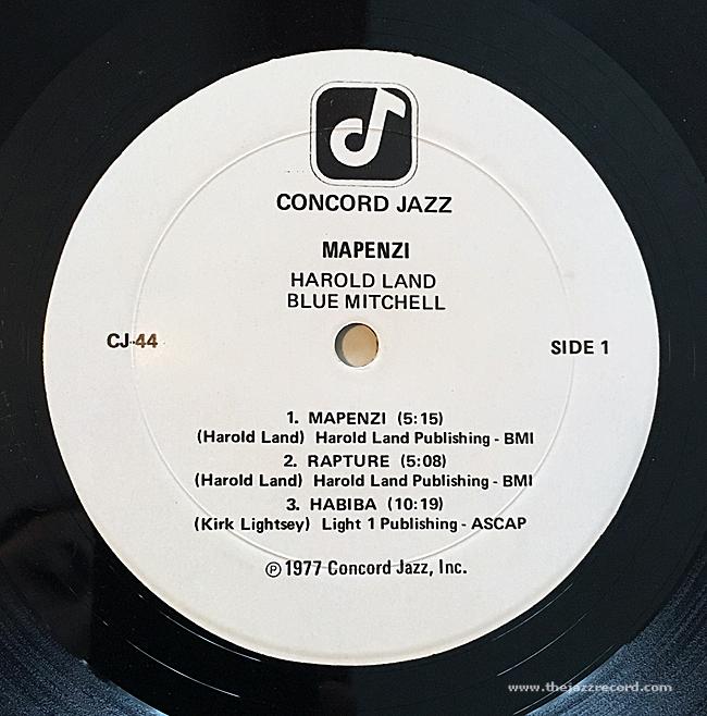 harold-land-blue-mitchell-quintet-mapenzi-label-vinyl-lp