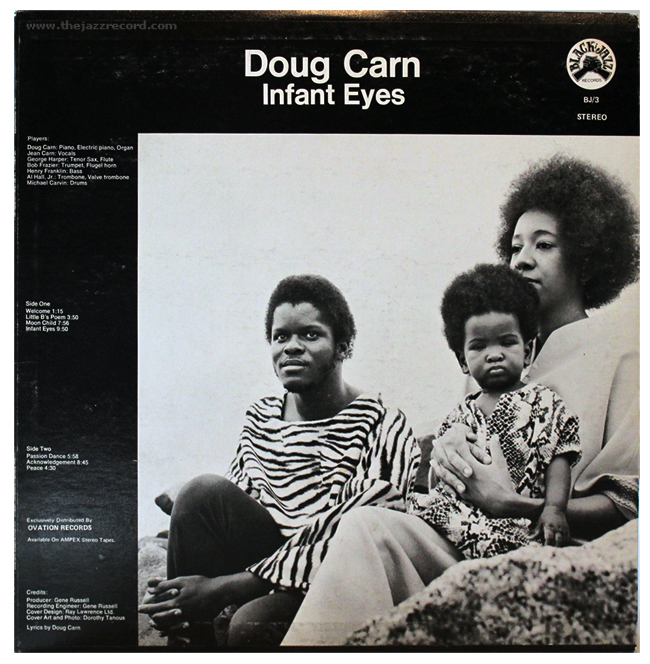 Doug Carn - Infant Eyes - Vinyl LP - Black Jazz Records