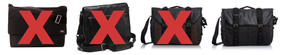 It Took Four Tries to Find The Right Messenger Bag