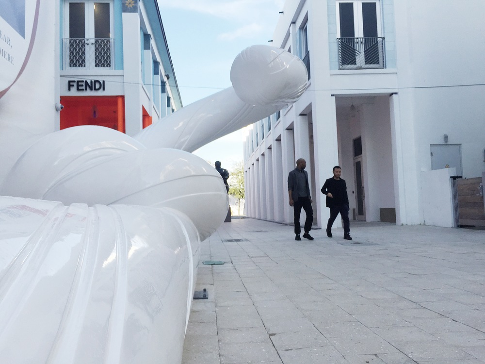 "Snarkitecture ""Holiday"" in Miami Design District"