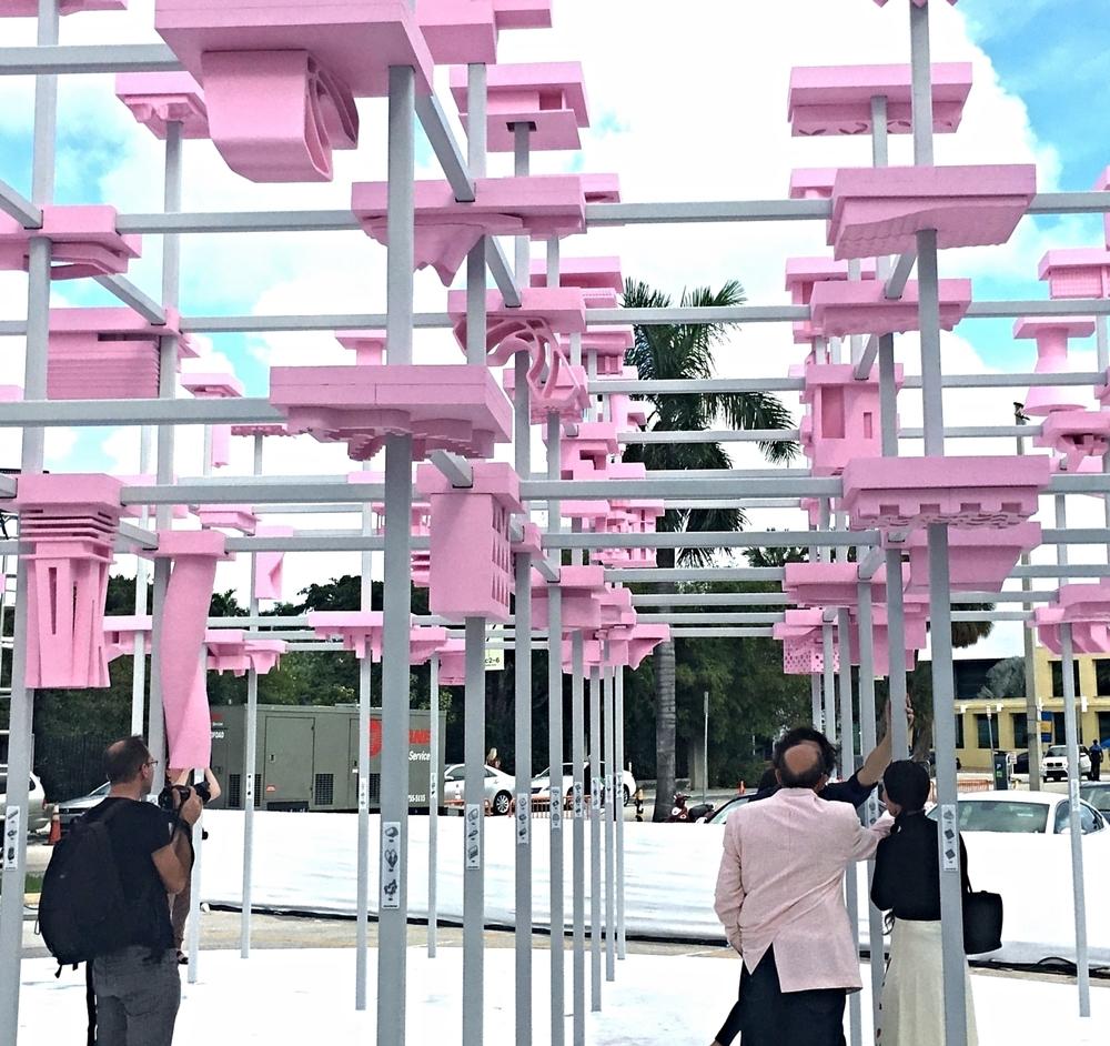 UNBUILT: Design Miami | Harvard GSD Pavilion