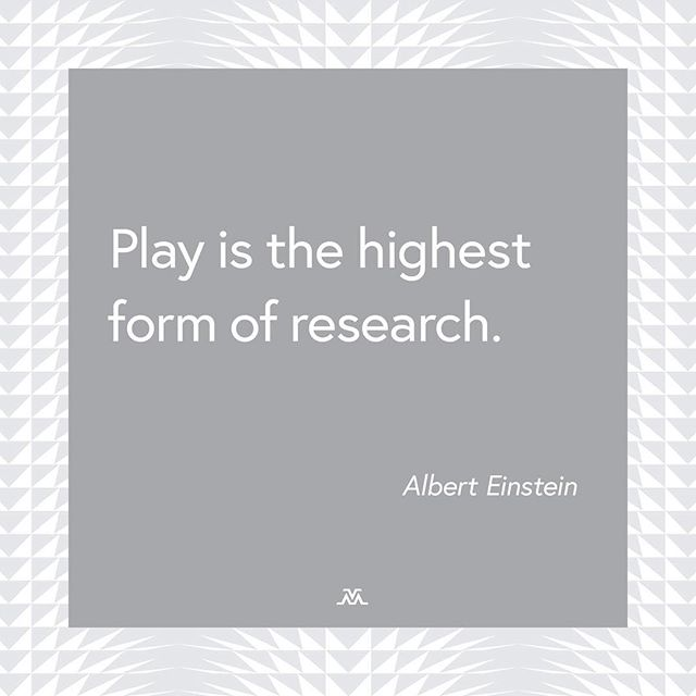 Play can be work too! 🤸‍♀️ #alberteinstein #brainstorm