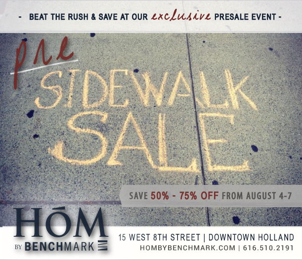 HollandSidewalkSale