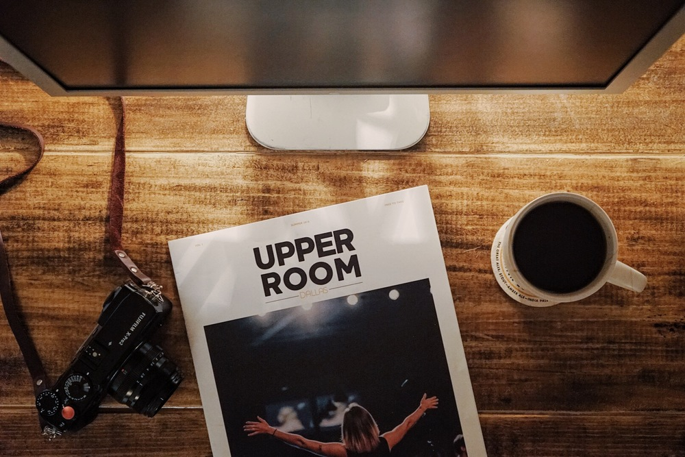 Upper Room Dallas Magazine by Joshua Davis