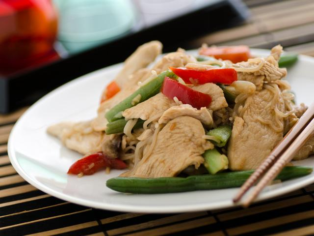 Chicken Stir Fry with Peppers from the meal planning menu