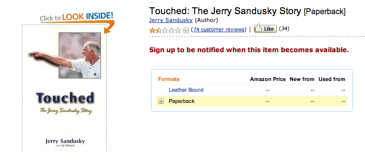 Apropos of nothing. Just a normal day browsing Amazon.