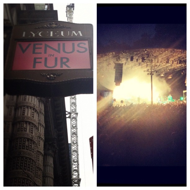 Today was alright: Venus in Fur / Foster the People