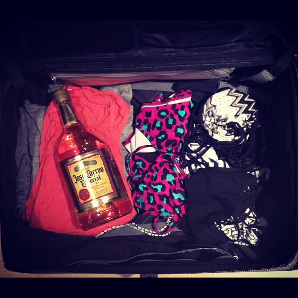 All packed.