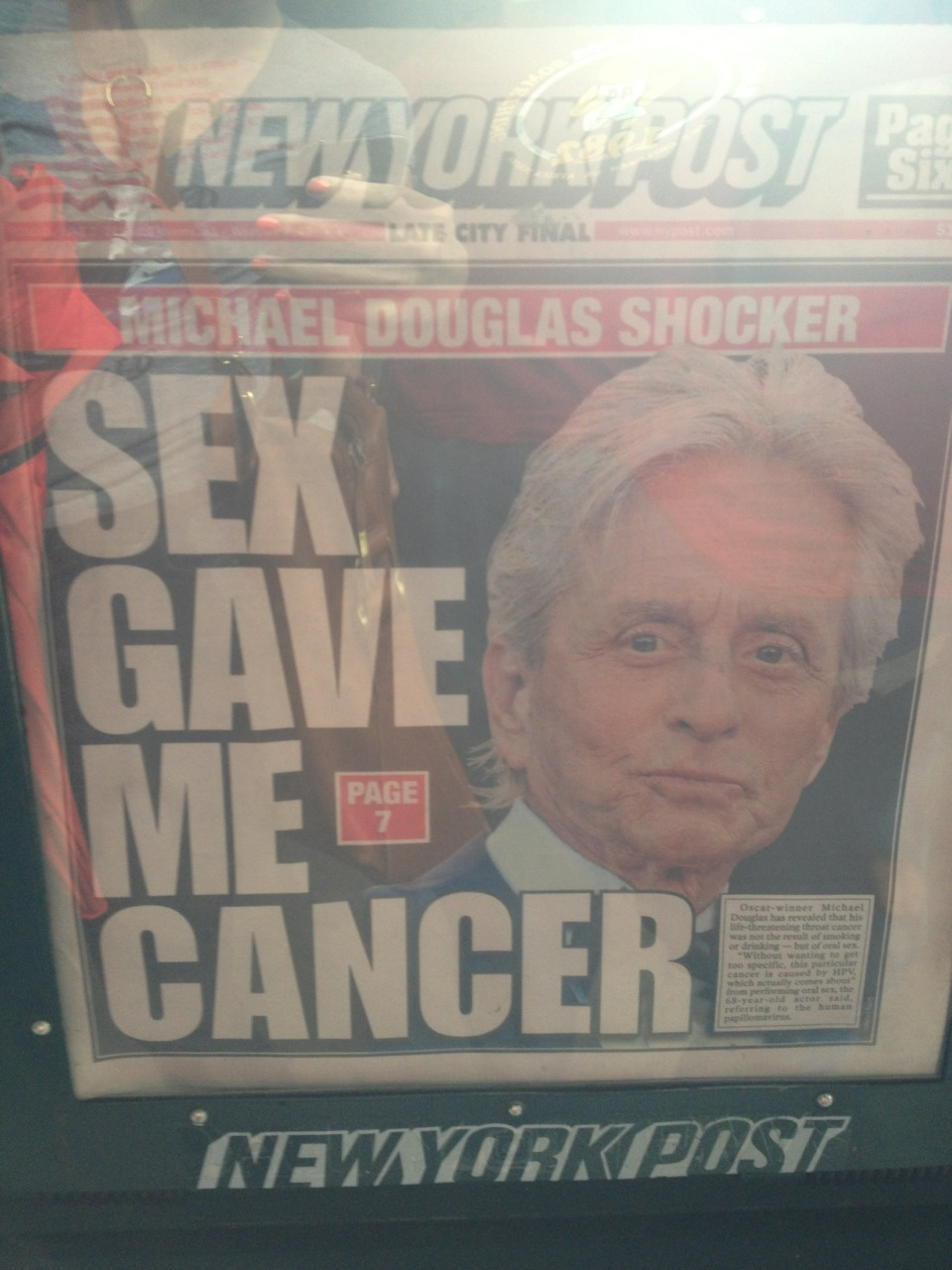 Keep it classy, NY Post.