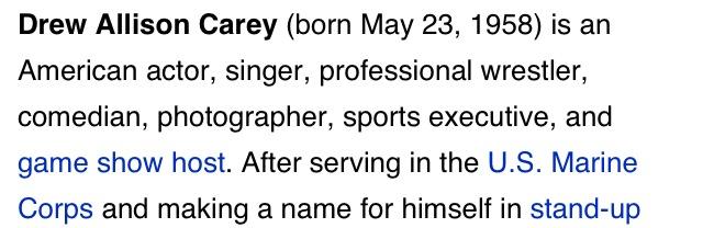 bestrooftalkever :      jhermann :      synecdoche :     photographer.     professional wrestler.     sports executive.     Allison.
