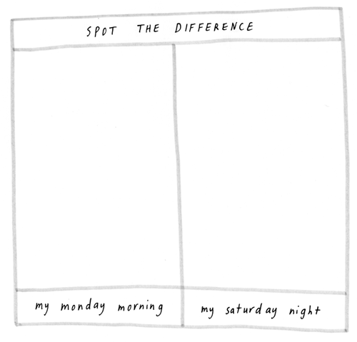 heyoscarwilde :     fill in the blanks…   illustration by  Lisa Currie  :: via  busybody-lazybones.com